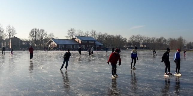 Actie in de winter